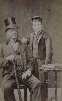 Barclay Henry and his Father circa 1879