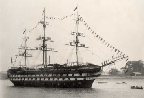 H.M.S. Worcester