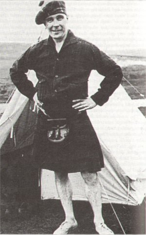 Ben Humble on holiday in Iceland in 1930