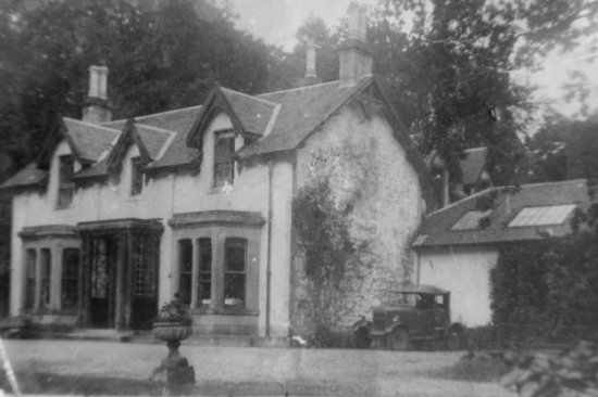 Fascadail, Arrochar circa 1926 when owned by Barclay Henry