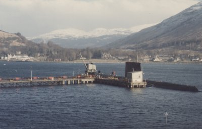 Submarine at Arrochar