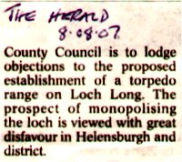Clipping from The Herald