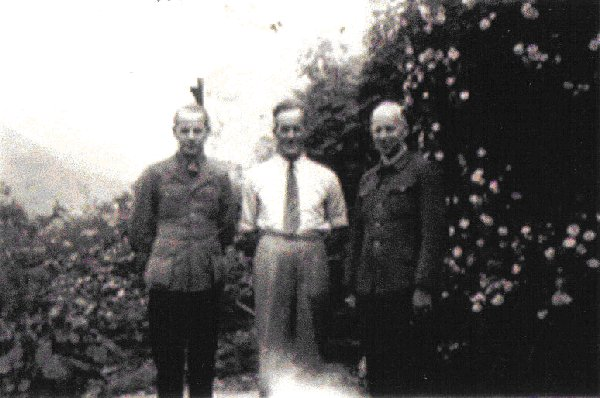 James Ross and two Prisoners Of War POW's who worked in the Sloy Offices