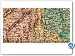 1761 - James DORRET - An accurate map of Scotland drawn from all the particular surveys